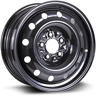 RTX, Steel Rim, New Aftermarket Wheel, 16X6.5, 5X114.3, 71.5, 40, black finish X99128N - coolthings.us