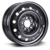 RTX, Steel Rim, New Aftermarket Wheel, 16X6.5, 5X114.3, 71.5, 40, black finish X99128N