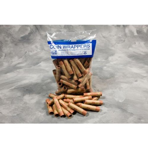 Coin Wrappers -36 Count Pennies (Pack of 25)