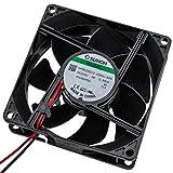 Fan Ventilatore 24V 0,96W 80x80x25mm 56,1m³/h 28dBA ; Sunon MF80252V31000UA99