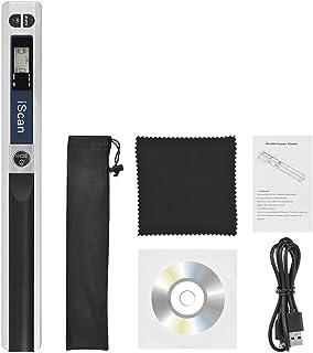 スキャナー 携帯用ハンドヘルド ワンドワイヤレススキャナー A4サイズ 900DPI JPG/PDF保護液晶ディスプレイ付き LCDディスプレイ