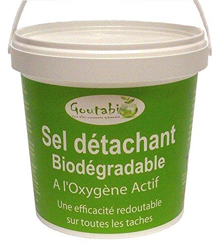 Goutabio - Sel Détachant Lessive écologique - Pot 1 kg
