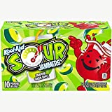 Kool-Aid Sour Jammers Snappin' Green Apple Flavored Juice Drink (10 Pouches)