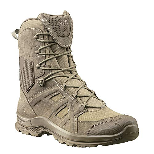 Haix Black Eagle Athletic 2.0 V T high/Desert Sidezipper Sportlicher Einsatzstiefel mit Sidezipper. 46