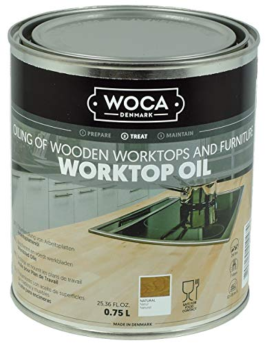 Woca Trip Trap Arbeitsplattenöl natur 0,75 Liter
