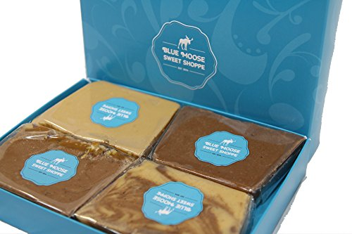 Classic 1 LB Sampler | Gourmet Fudge | The Best Copper-kettle Fudge | Blue Moose Sweet Shoppe | Holiday Gifts (Classic, 1 Lb)