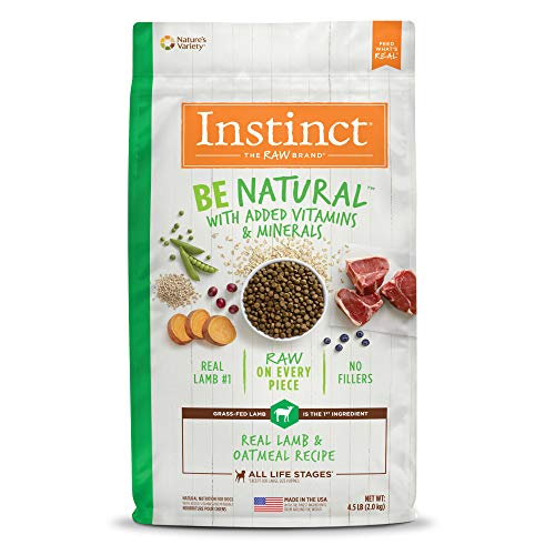 Instinct Be Alimento seco natural para perros receta natural de Nature's Variety, Lamb