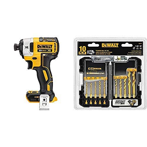 Review Of DEWALT DCF887B 20V MAX XR Li-Ion Brushless 0.25 3-Speed Impact Driver with DEWALT Titaniu...