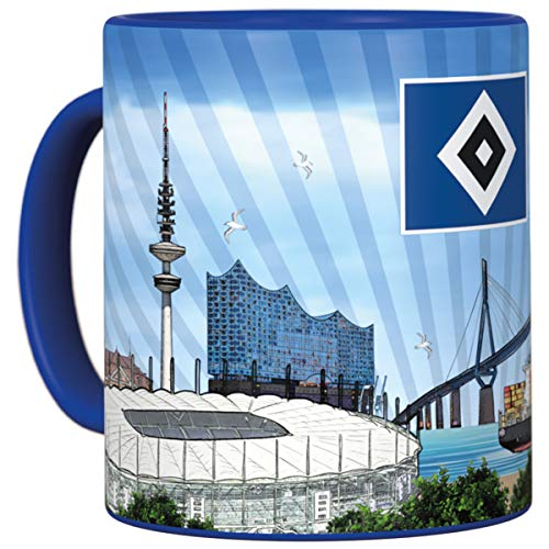 Hamburger SV HSV Tasse, Becher Metallic Hamburg, 29973