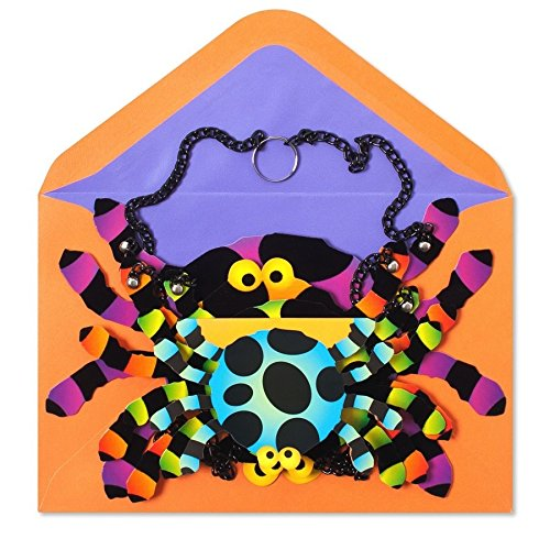 Papyrus Halloween Cards Decorative Spider Mobile, 1 Ea