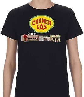 Corner Gas Logo and Station Womens Shirt