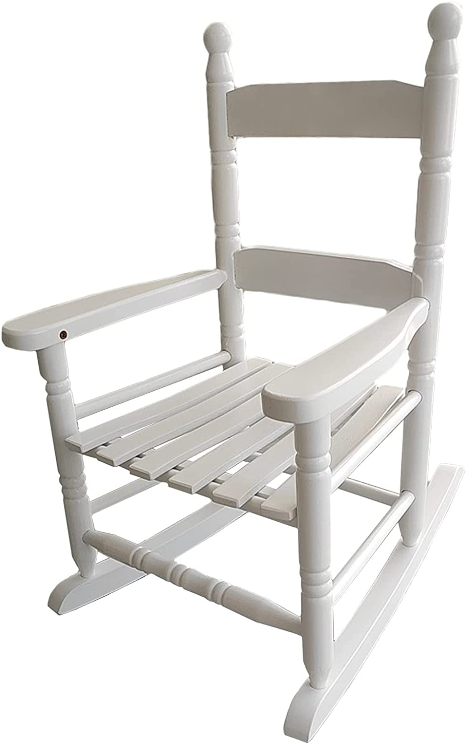 LXLA White Classic Wooden Kids Cha Discount is also underway with Rocker Handrail Rocking Quantity limited