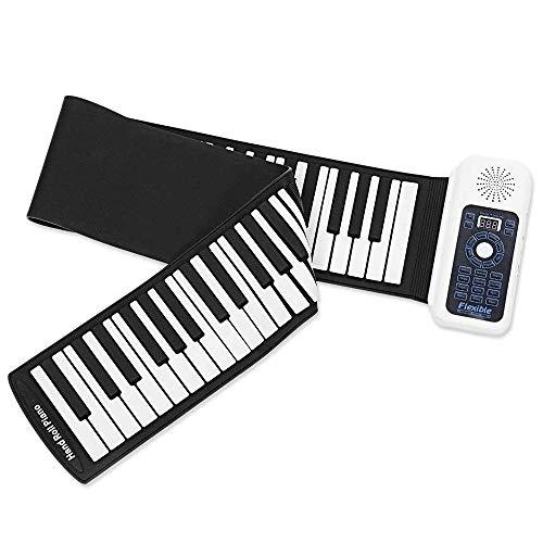 Buy CHENXIU Hand Roll Portable Piano Keyboard 61 Keys Electronic Piano Hand Roll Piano with Loud Spe...