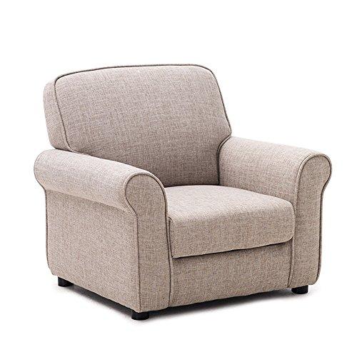MEIDUO Durable Selles Canapé pour enfants bébé canapé chaise Candy couleur mini canapé mignon siège Multicolore en option pour intérieur extérieur (Couleur : Gray(fabric))