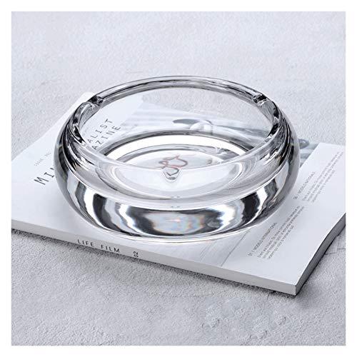 Cenicero Cenicero de cristal sin cubierta Inicio/Salón/Mesa de centro/Oficina/Asegra 7 pulgadas Redondo...