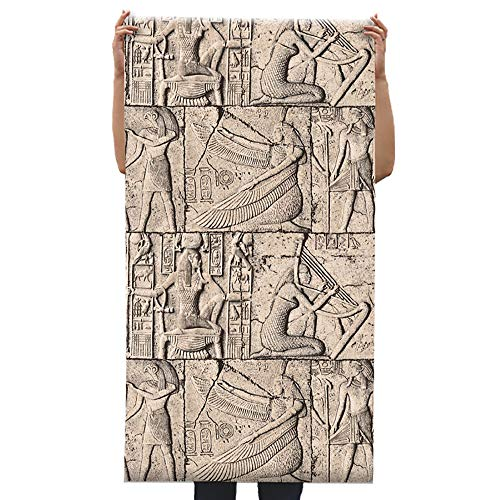 Order Soil Cultura egipcia Vintage Piedra Tema Hotel Mural Papel Tapiz Personalidad Mesopotamia Cultura