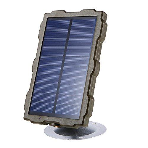 Explopur Cámara de Caza Batería Cargador de Panel Solar Alimentación Externa para cámara de Camino H801 H885 H9 H3 H501 Mini