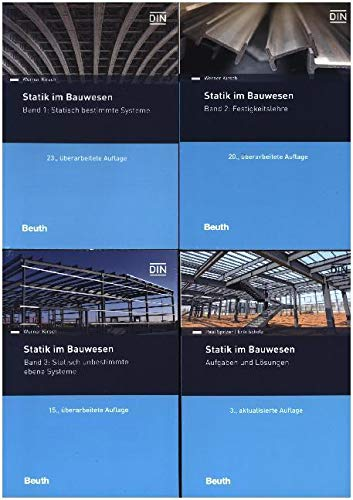 Statik im Bauwesen komplett - 4 Bände: Paket Band 1 bis 3 und Aufgabensammlung (Beuth Praxis)