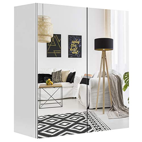 Tangkula Bathroom Medicine Cabinet, Wide Wall Mount Mirrored Cabinet with Adjustable Shelf, -
