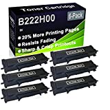 Paquete de 6 cartuchos de impresora láser B2236DW, MB2236ADW, MB2236ADWE (alta capacidad) de repuesto para Lexmark B222H00