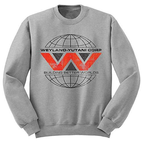 Digital Pharaoh - Aliens Nostromo Weyland Yutani Sweatshirt Sweater M41A - SCHWARZ (XL)