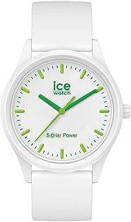Ice-Watch - ICE solar power Nature - Weiße Uhr mit Silikonarmband