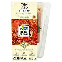 青竜タイレッドカレー3ステップキット253グラム - Blue Dragon Thai Red Curry 3 Step Kit 253g [並行輸入品]
