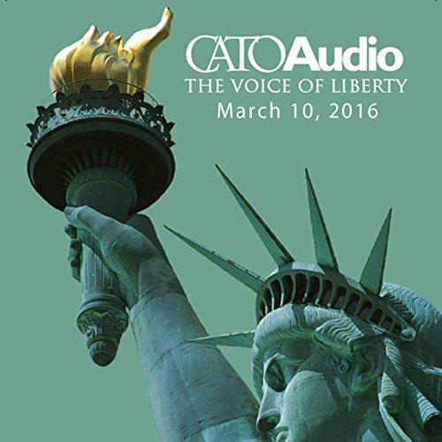 CatoAudio, March 2016 audiobook cover art