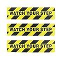 """Kasteco 3 Pack""""Watch Your Step"""" Printed Anti Slip…"""