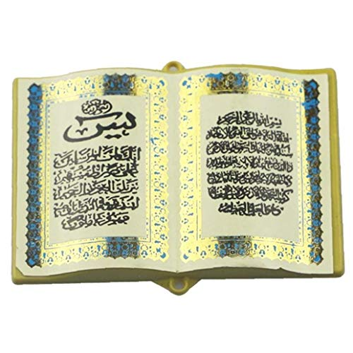 Oulensy Refrigerador Magnético Etiqueta Biblia Libro Islam Ramadán Eid Mubarak Decoración para La Pizarra Nevera Pared Armario