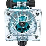 Makita 3709 Kachel-Router, 3709 , 240 Volt, Schwarz, Blau, Silber - 4