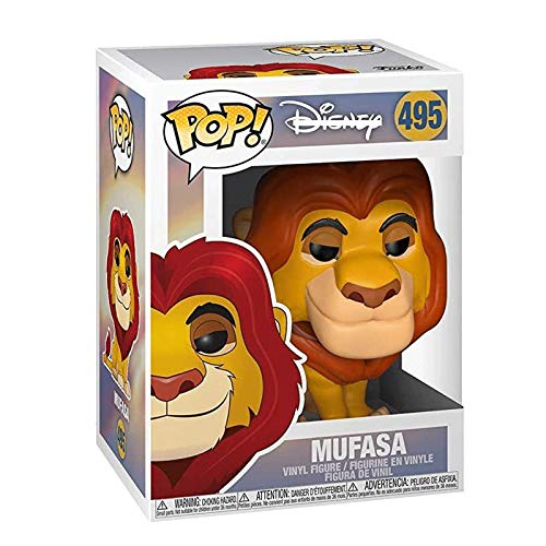 Funko Pop Movie : The Lion King - Mufasa 3.9inch Vinyl Gift for Boys Cartoon Fans for Boy