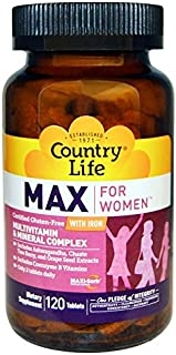 Country Life Maxine for Women - 120 Tablets