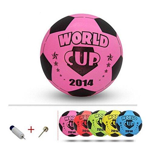 Gonflable Ballons de soccer Pool Party Favor Soccer Ball for Kids Rose, 8.3 ''