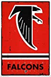 Atlanta Falcons - Retro Logo 2015 Poster Drucken (55,88 x