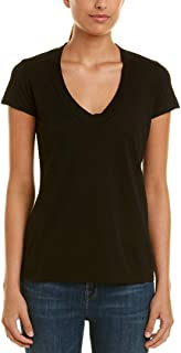 Womens Relaxed Casual T-Shirt, 1 Blk