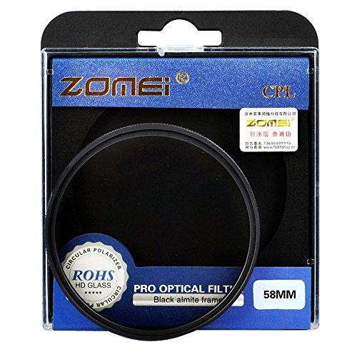 ZOMEI Powerline Filtro polarizzanti digitale circolare per dispositivo Fotocamera per Canon Nikon Sony fuji ecc