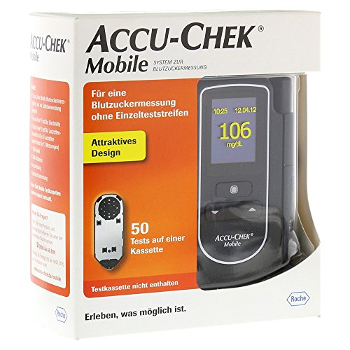 Accu-Chek Mobile mg/dL, 1 St