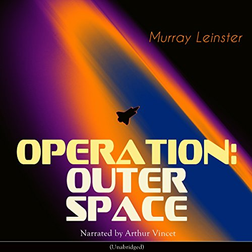 Operation: Outer Space audiobook cover art