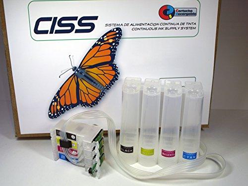 CISS WF7210 - Sistema Completo con Chip ARC para Impresoras del Epson WF-7210