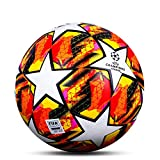 CNSTZX® Ballon de Football en Fusion Taille Officielle Taille 5, Ballons de Foot Ball équipe Sport Formation Training Ligue Balles Futbol Bola, Professionnel World Cup Enfant Adultes Football