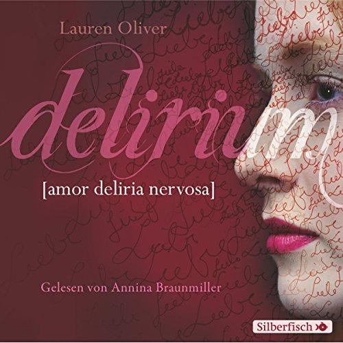 Delirium audiobook cover art