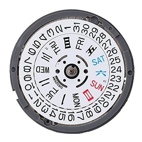 Farrom NH35 / NH36 Hochpräzise automatische mechanische Uhr Handgelenk Bewegung Tag Datumsanzeige