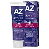 AZ 3D White Luxe Bianco Brillante Dentifricio, 75 ml