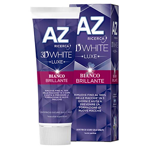 AZ 3D White Luxe Bianco Brillante Dentifricio, 75...