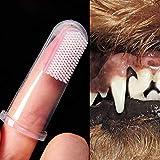 Modenny Súper Suave Cepillo de Dientes para Mascotas Cepillo para Perros de Peluche Mala Respiración Cuidado de Dientes de Tártaro Suministros de Limpieza para Perros