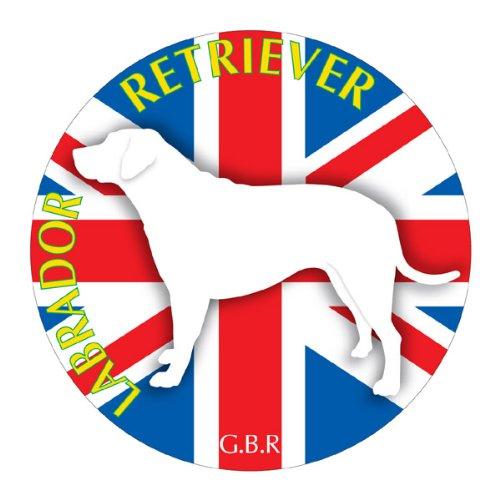 ラブラドールレトリーバー マウスパッド 吸盤 吸着 グッズ 動物 イラスト 癒し アニマル ドッグ マウスパット 犬 いぬ イヌ シルエット 影 アクセサリー