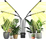 Indoor Grow Light,48W LEDs Grow Light for Seedlings Growing and Fruiting,LCD...