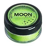 Moon Glow - Neon UV Glitzer Mixer 5g Grün – ein spektakulär glühender Effekt bei UV- und Schwarzlicht!