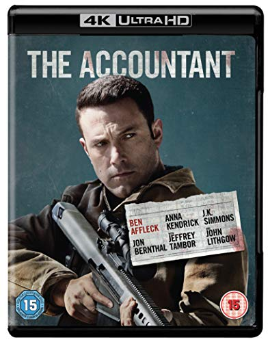 The Accountant [4K Ultra HD] [2016] [Blu-ray]